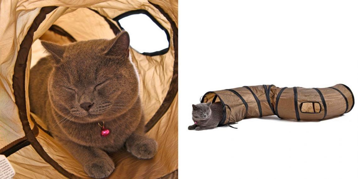 Игровой туннель для кота