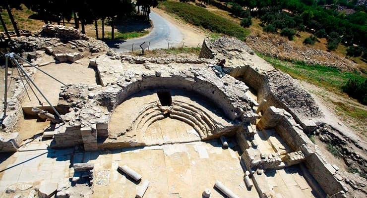 Раскопки в Турции