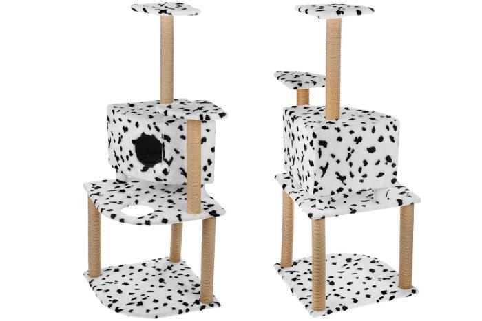 Игровой комплекс для кошек с высотой 1,5 метра