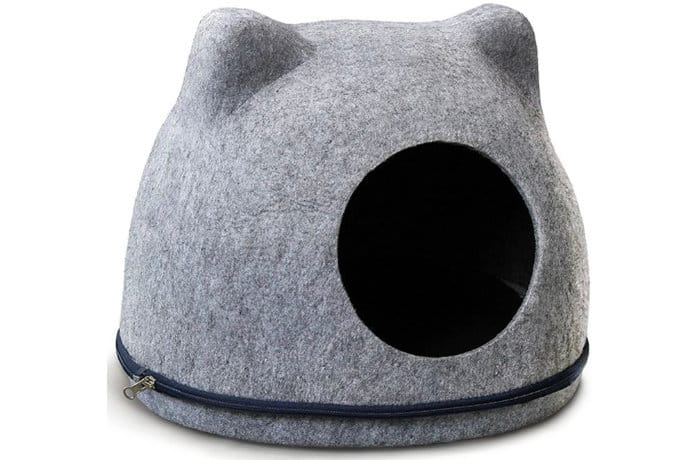 Войлочный домик для кошек