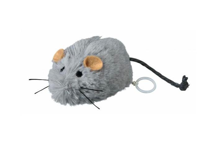 Заводная мышка - игрушка для кошек