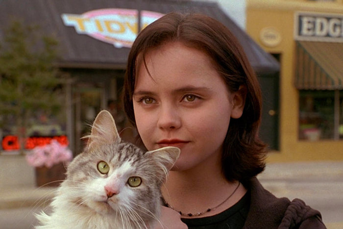 """Момент из фильма """"Эта дикая кошка"""""""