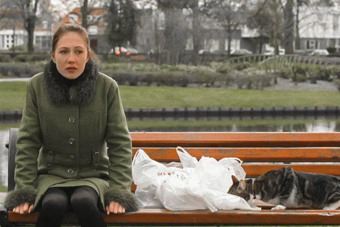 """Кадр из фильма """"Леди-кошка"""""""